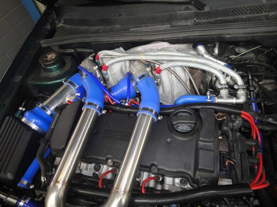 VW-Golf-Biturbo-KS-Automotive-KS-Performance-KS-Classic-KS-Racing-Edelstahlauspuff-Chromstahlauspuff-Fächerkrümmer-Inox-Exhaust-Header
